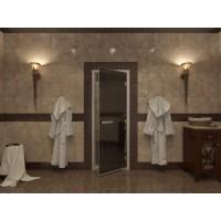 Стекляная дверь Doorwood Черный жемчуг