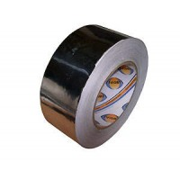 Скотч алюминиевый 50мм х 50м(30мкр)