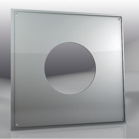 Лист потолочный универсальный 500*500мм/ 430 (0,5мм), 150 мм