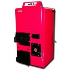 Wirbel ECO-CKB Plus 25 - Котел двухтопливный (тв.топливо, дизель, газ) стальной, с бойлером из нерж. стали