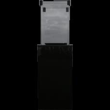 Газовый нагреватель Kratki PATIO/M/G31/37MBAR/CZ - черное стекло, с ручным управлением