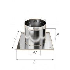 Потолочно проходной узел (430/0,5 мм) Ф 100