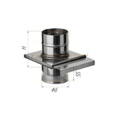 Шибер-задвижка (439/0,8 мм) Ф 110