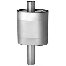 Бак ЭЛИТ 60л эллиптический на трубе Ф 115 (AISI 304)