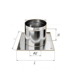 Потолочно проходной узел (430/0,5 мм) Ф 180