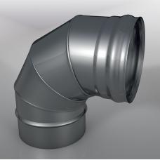 Отвод 90° DOM Моно, диаметр 120 мм