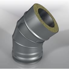 Отвод 45° DOT Термо, диаметр 120 мм