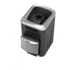 Дровяная банная печь Компакт 2013 Carbon ДН КТК антрацит