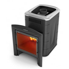 Дровяная банная печь Компакт 2013 Carbon Витра антрацит