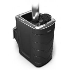 Дровяная банная печь Гейзер 2014 Carbon ДН ЗК антрацит