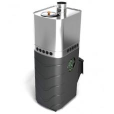 Дровяная банная печь Бирюса 2013 Carbon ДА ЗК антрацит