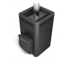 Дровяная банная печь Карасук Carbon ДА КТК антрацит
