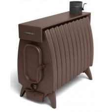 Дровяная отопительная печь Огонь-батарея 11 ЛАЙТ шоколад