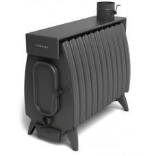 Дровяная отопительная печь Огонь-батарея 11Б ЛАЙТ антрацит