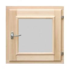 Окно для бани квадратное 400*400 мм