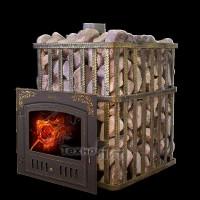 Чугунная банная печь - ПБ-120С