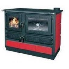 Печь-камин Gucha Гулливер (бордовый, кремовый)
