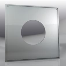 Лист потолочный универсальный 500*500мм/ 430 (0,5мм), 260 мм