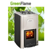 Дровяная каменка для сауны Harvia GreenFlame
